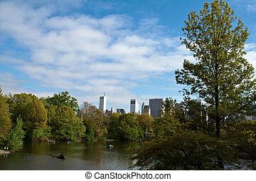 Central Park Lake, New York City