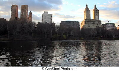 Central Park West in New York