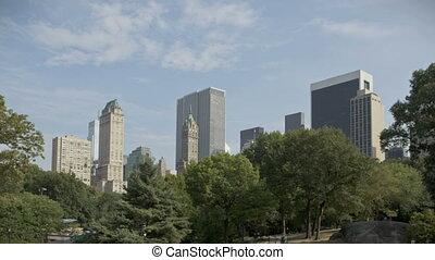 Central Park with Skyline