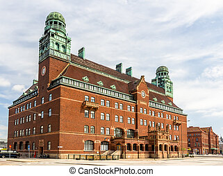 Central post office of Malmo - Sweden