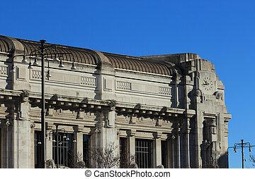 Central railway station, Milan