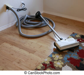 Central vacuum cleaner