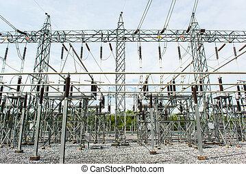 centrale électrique, confection, électrique