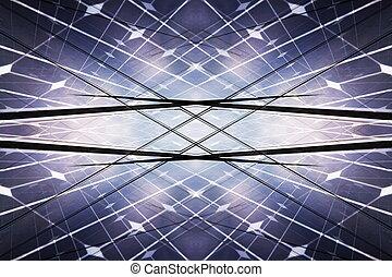 centrale électrique, utilisation, renouvelable, énergie solaire
