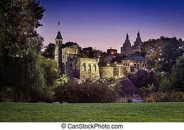 centrale, castello, parco
