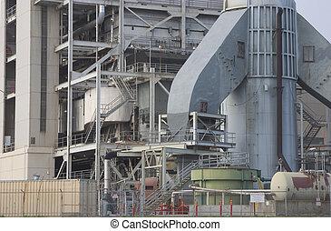 centrale elettrica, dettaglio