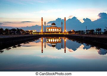 centrale, songkhla, moschea, tailandia