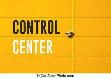 centre contrôle
