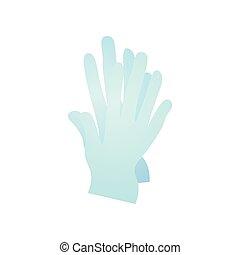 centre, docteur, outillage, moderne, stomatologic, gants caoutchouc