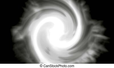 centre of swirl cyclone,rotation energy tunnel in...