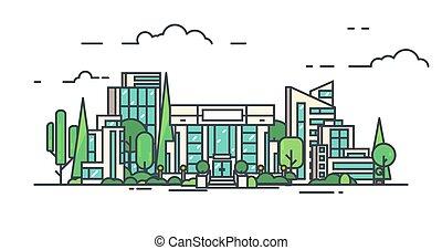 centre ville, business