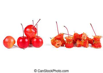 centri, mela, granchio