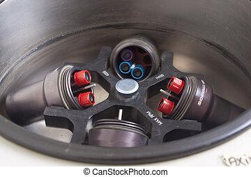 centrifuga, sangue, campioni
