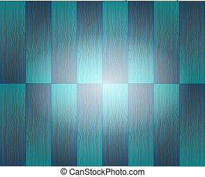 centro azul, textura madeira, fundo, branca
