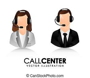 centro, chiamata