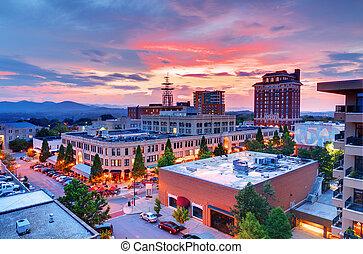 centro cidade, asheville