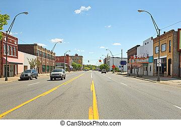 centro cidade, benton, porto, michigan