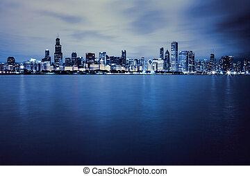centro cidade, chicago