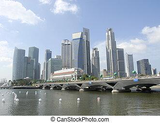 centro cidade, cingapura