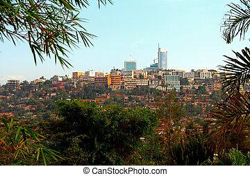 centro cidade, kigali, ruanda