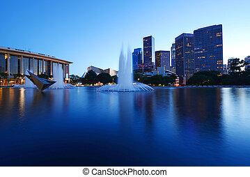 centro cidade,  Los,  Angeles