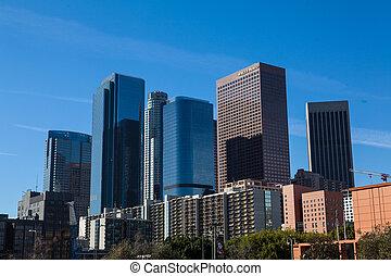 centro cidade,  Los,  Califórnia,  Angeles