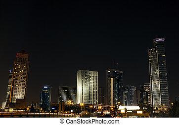 centro cidade, skyline