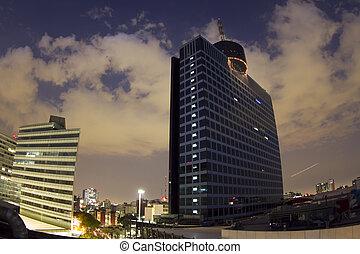 centro, comercio mundial, ciudad, méxico