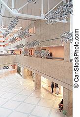 centro commerciale, albergo