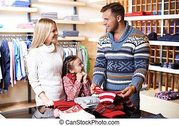 centro commerciale, famiglia