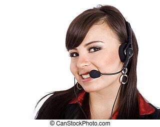 centro de la llamada
