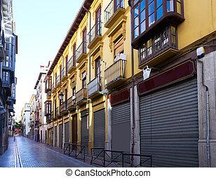 centro distrito cidade, realejo, granada, espanha
