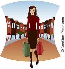 centro, shopping