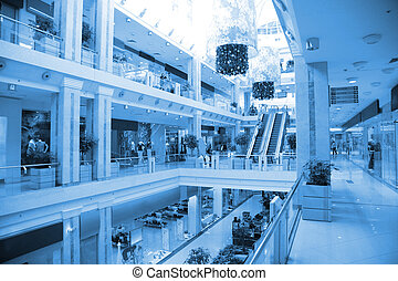 centrum, handel