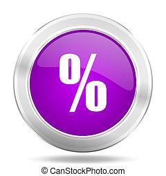 cents per, omkring, blanke, lyserød, sølv, metallisk, ikon, moderne, konstruktion, væv, element