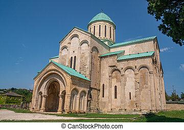 century), georgia, ciudad, ortodoxo, (xi, iglesia, kutaisi, ...
