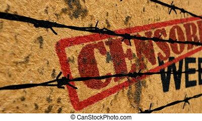 cenzurowany, sieć, pojęcie