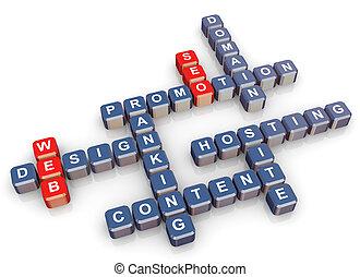 ceo, クロスワードパズル, 網