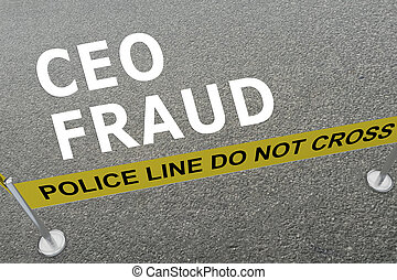 CEO FRAUD concept