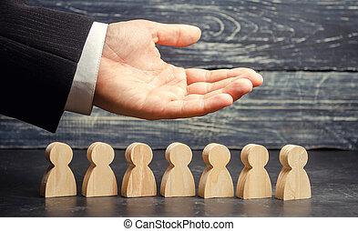 (ceo), segmentation, team., 心配, ビジネスマン, resources., employees., union., 仕事, リーダー, 労働, 雇用, 表す, 生活, staff., マーケティング, 人間, concepts., agencies., insurance.