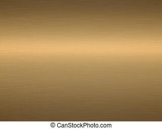 cepillado, bronce
