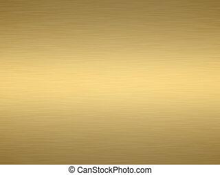 cepillado, oro