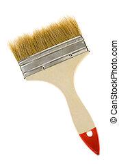 cepillo, para, pintura
