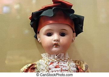 cerámico, muñeca