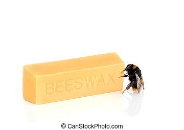 cera de abejas, bumble bee