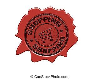 cera, shopping, selo