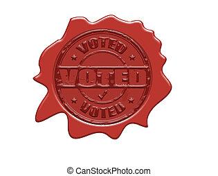 cera, voted, selo