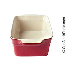 Ceramic baking dish