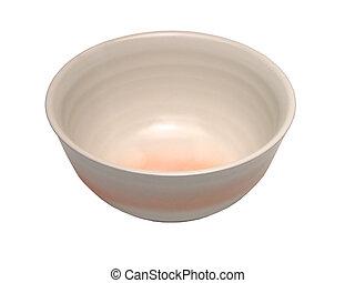 Ceramic bowl-clipping path