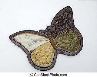 Ceramic Butterfly 01